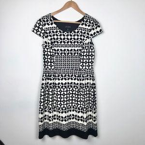 Enfocus Studio Cap Sleeve Fit Work Dress 14